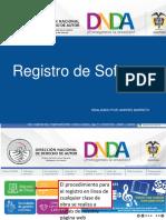 DNDA - Formato registro de software.ppt