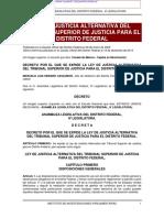 Ley de Justicia Alternativa DF_2017
