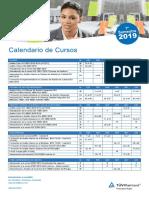 Tuev Rheinland Calendario normas