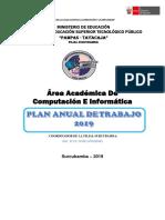 Plan Anual de Trabajo 2019