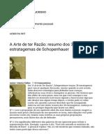 A Arte de ter Razão_ resumo dos 38 estratagemas de Schopenhauer – Coaching para o sucesso.pdf