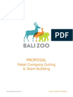 Proposal bali zoo