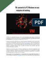 Commando VM El Mejor Sistema
