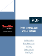 Thermo Cr422 Troubleshooting Manual
