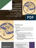 12 Gis Analysis Function IDRISI