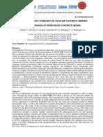 DIMENSIONAMENTO OTIMIZADO DE VIGAS EM CONCRETO ARMADO OPTIMAL DESIGN OF REINFORCED CONCRETE BEAMS