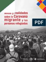 Mitos y realidades de la  Caravana migrante