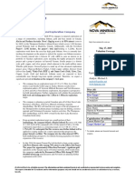 KPG Research Report on Nova Minerals Limited