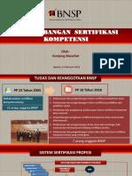 Pengembangan Sertifikasi Kompetensi