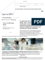 Qué es MVC