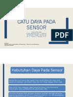 Catu Daya Untuk Sensor