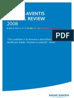 2008 SanofiAventis Annual Report