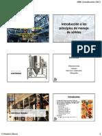 01 2 OcS - Materias Primas, Limpieza, Selección y Clasificación