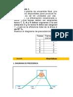 Solucionario Ejercicios Balance de Linea 1,2,7,8