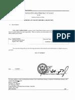 Federal Subpoena 2017