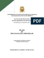 Syllabus Psicologia Del Aprendizaje 2018 (1)