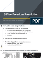 14.00 Asanovic SiFive Freedom Revolution Customizable RISC v AI Platform With HBM2 and 56 112Gbs SerDes