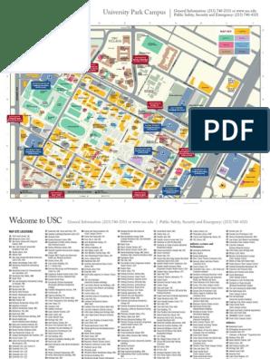USC University Place Campus Map | University Of Southern ...