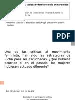 Unidad 2 Economia Sociedad y Territorio en La Primera Mitad Del Siglo Xx en Chile