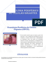 Granuloma Periférico de Células Gigantes