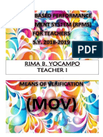 RESULTS-BASED PERFORMANCE MANAGEMENT SYSTEM (RPMS) FOR TEACHERS.docx