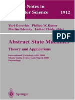 ASM - Abstract StateMachines Theory and Applications (Lecture Notes in Computer Science ).pdf