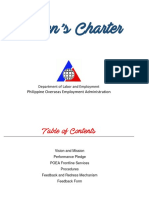 POEA Citizen Charter