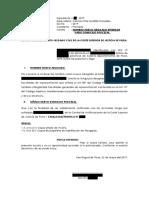 Nombro Nuevo Abogado Defensor Vario Domicilio Procesal - Wilfredo More Garcia 2019