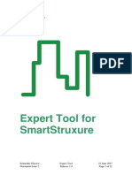 Expert Tool for SmartStruxure Solution - User Guide
