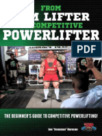 From Gym Lifter to Competitive Powerlifter the Beginner's Guide to Competitive Powerlifting! (Powerlifting for Beginners Book 1) - Joe Ironman Norman