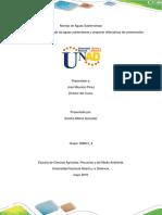 Fase 4 - Evaluar La Calidad de Las Aguas Subterráneas y Proponer Alternativas de Conservación (1)