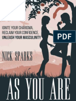 As You Are_ Ignite Your Charisma, Reclaim Yourleash Your Masculinity - Nick Sparks- (Croker)