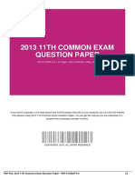 ID3b3b4286a-2013 11th common exam question paper