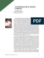 Enseñanza de la ciencia en México.pdf