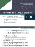 Historia Lengua Espanola Tema 4cr