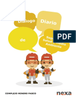 Dialogo de Seguridad Mensual - MAY
