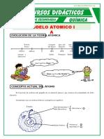 Modelo Atomico Para Primero de Secundaria
