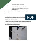 Analisis Quimico Textil a La Combustion