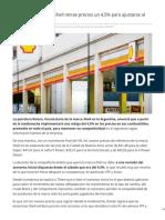 Ambito.com-Desde Medianoche Shell Retrae Precios Un 45 Para Ajustarse Al Mercado