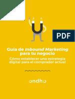 eBook Inbound Marketing Ondho