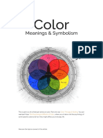 Presentation on Color Meanings & Symbolism
