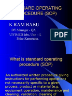 sop by Ramu ppt