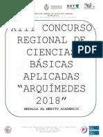 Convocatoria Arquimedes 2018