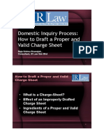 Domestic Inquiry Process - Drafting Proper and Valid Charge Sheet – Raja Vishnu Sivarajah - IR Law.pdf