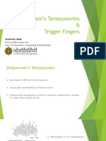 DeQuervain Tenosynovitis