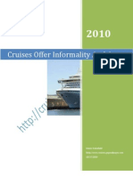 River Cruises Offer Informality and Access