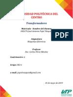 TAREA 1.TRANSFORMADORES