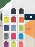 T shirt colour Designation