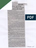 Philippine Star, May 22, 2019, Labor group slams compressed workweek bill.pdf