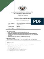 Soal PAS PDE Kelas X Semester 2